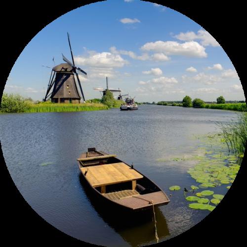 groepsaccommodatie zuid Holland vlakbij molens en dijken