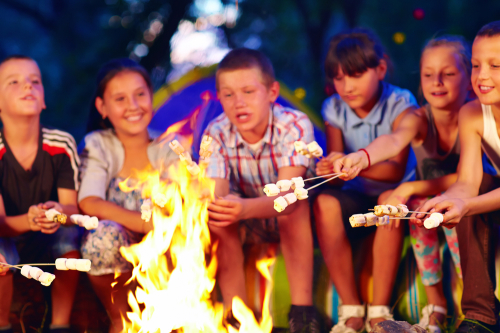 Groepsaccommodaties voor schoolkampen
