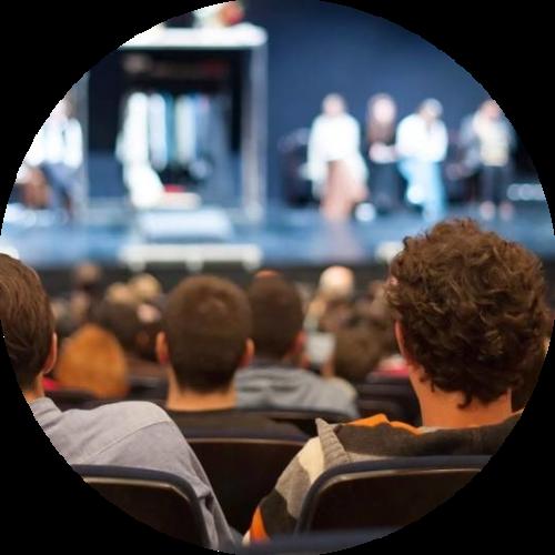 grote Groepsaccommodaties voor muziek, dans en theatergroepen