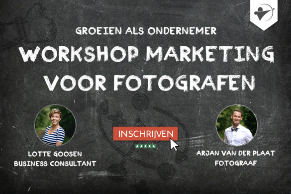 workshop marketing voor fotografen