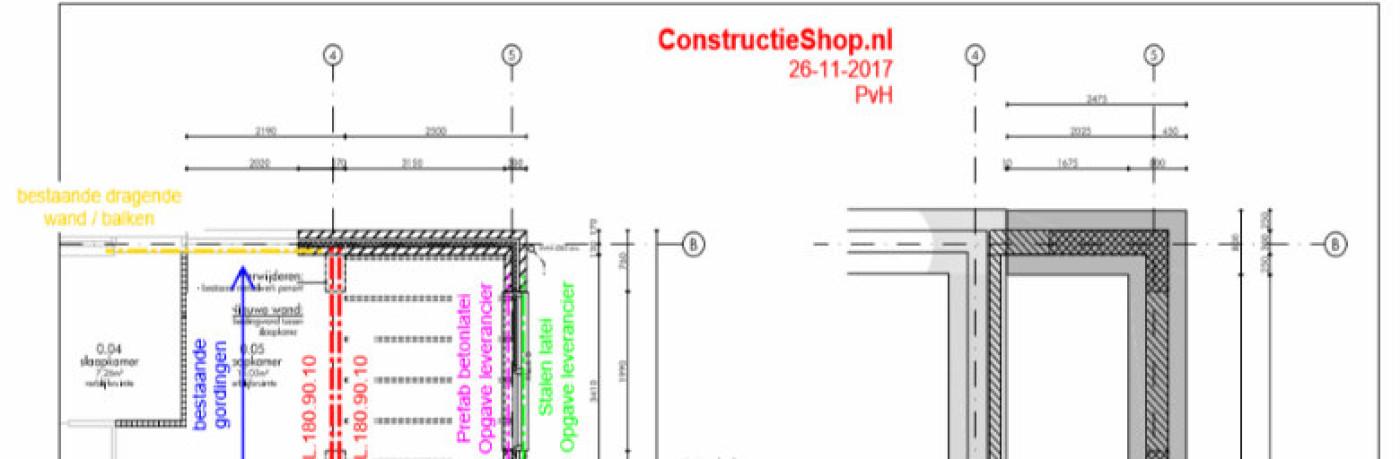 Constructietekening
