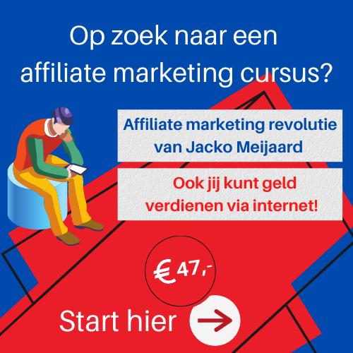 affiliate marketing revolutie kopen
