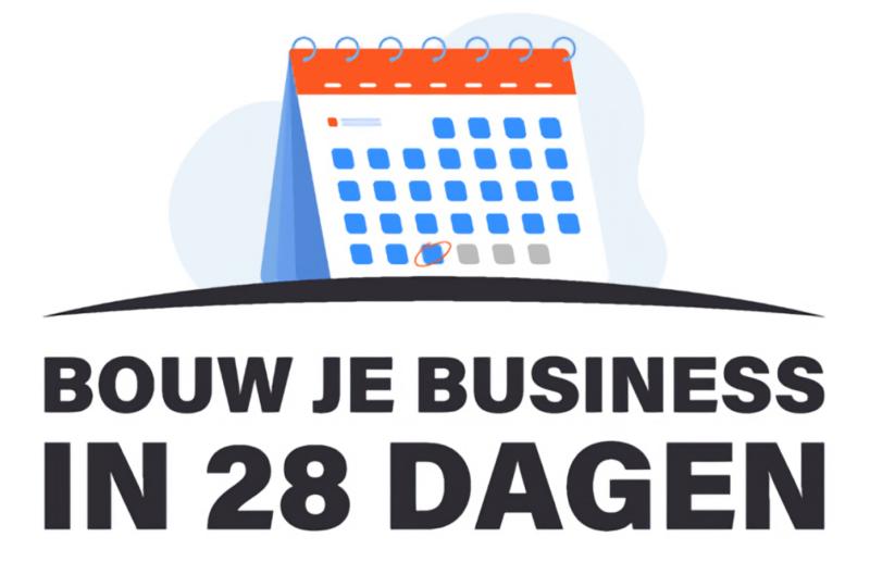 bouw je online business in 28 dagen