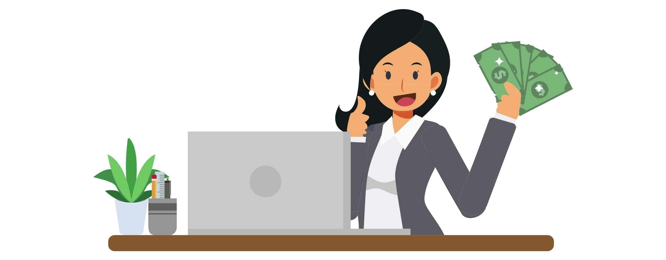 Online geld verdienen zonder investeringen met affiliate marketing