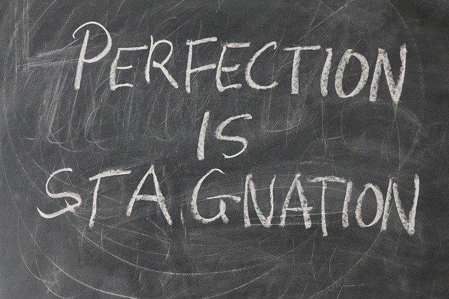 Perfectionisme houdt je tegen
