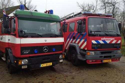 Brandweerauto huren
