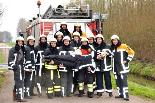 teambuilding bij de brandweer