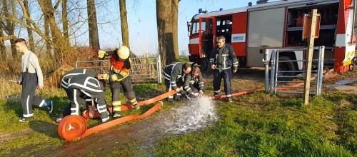 vrijgezellendag bij de brandweer