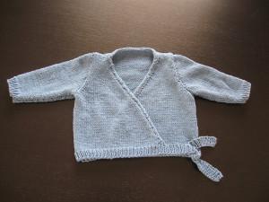 i-cord breien-babyvestje