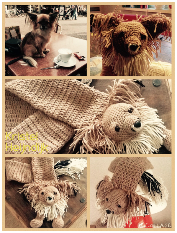 chihuahua sjaal haken