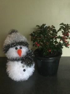 Tinsel Sneeuwmannen Breiclubnl