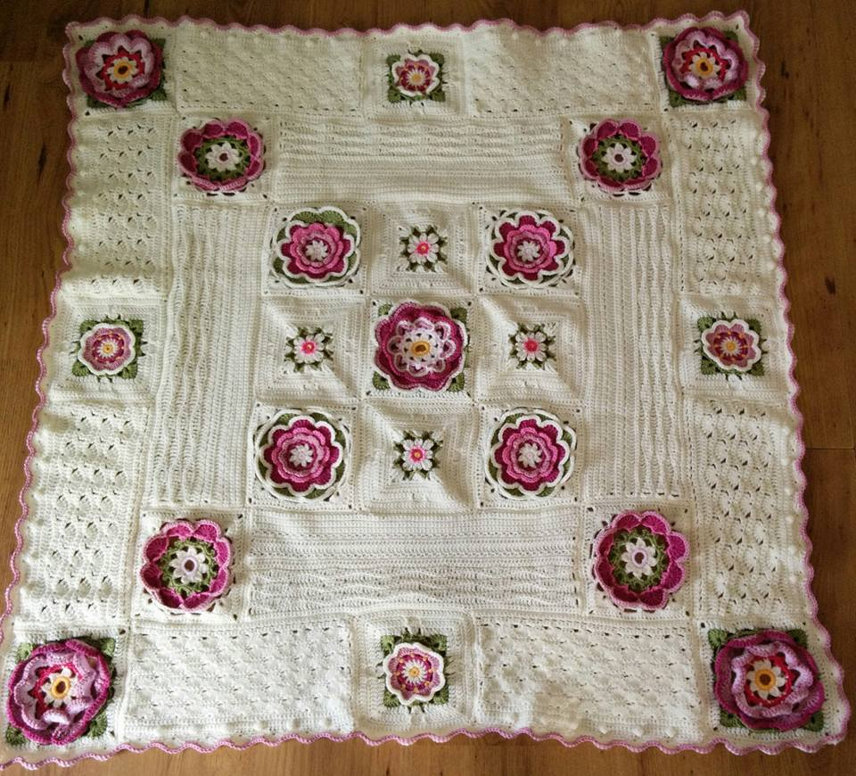 Prachtige Deken De Lily Pond Blanket Breiclubnl