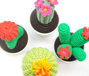 Cactussen Haken Daar Word Je Toch Spontaan Vrolijk Van Breiclubnl
