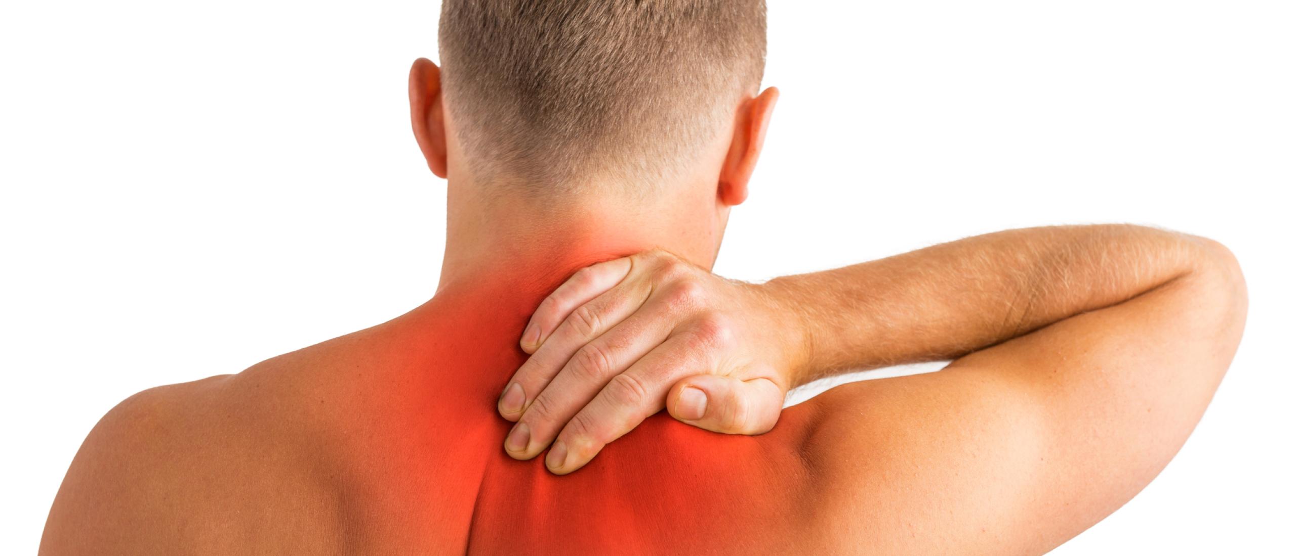 Pijn tussen de schouderbladen symptomen