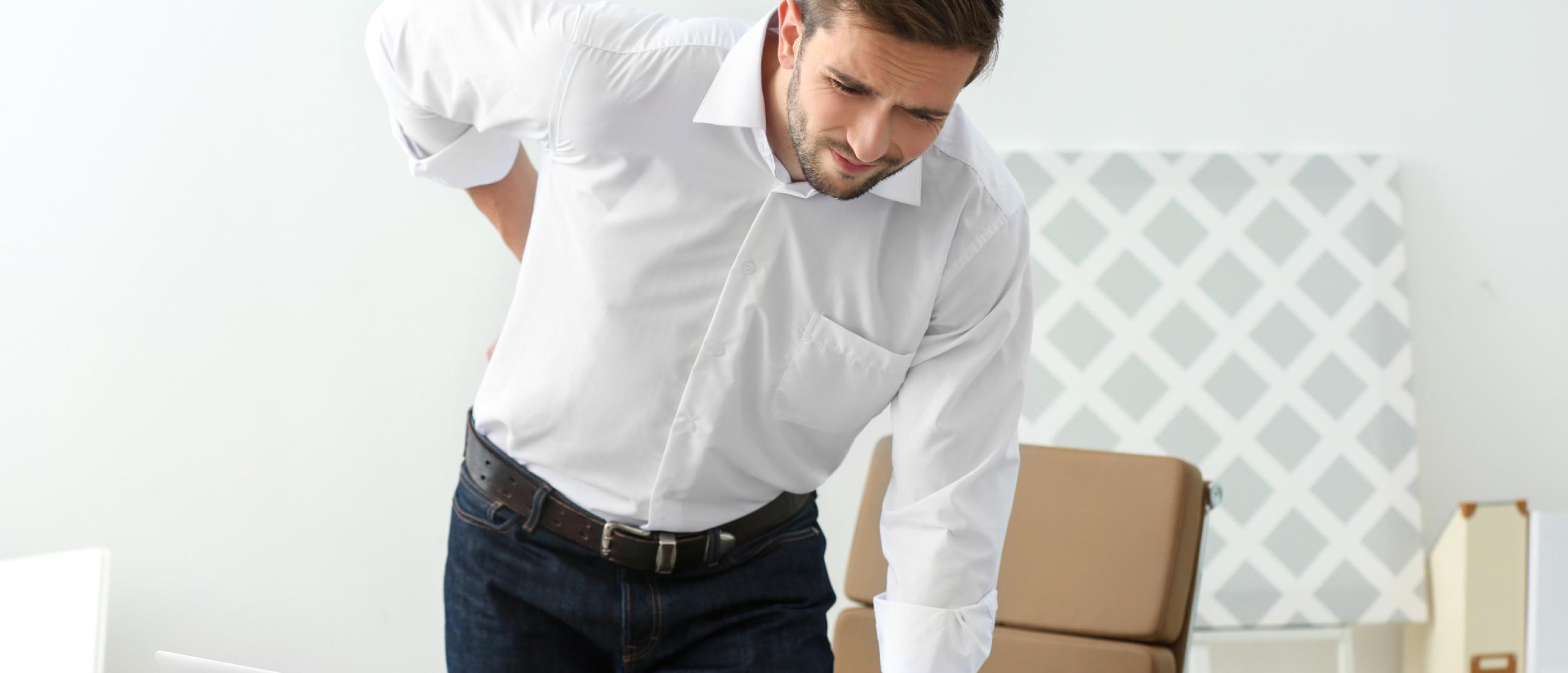 Rugpijn door stress verhelpen en verminderen