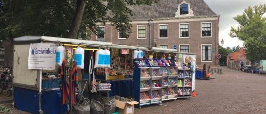 Speciale plek op de markt van Hoorn tijdens Corona