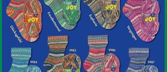 Opal Joy 4 draads sokkenwol