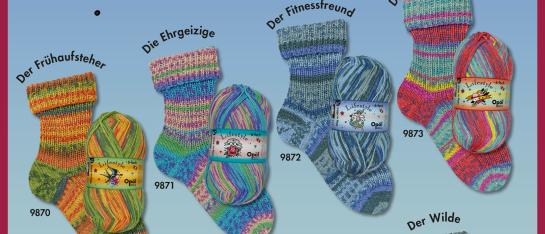 Opal 6-draads sokkenwol Lifestyle