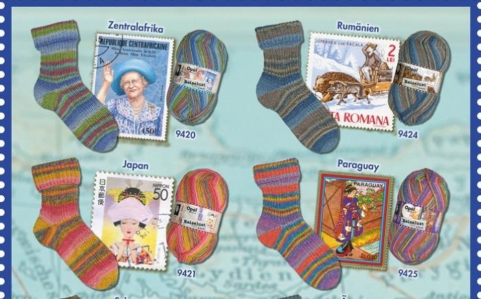 Opal 6-draads sokkenwol Reiselust