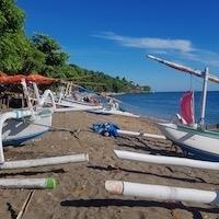 Vissersboten Amed Bali