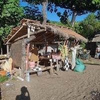 Warung strand Amed