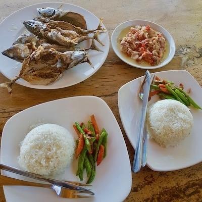 Nasi Ikan Goring