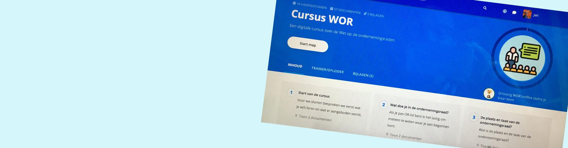 online training wet op de ondernemingsraden