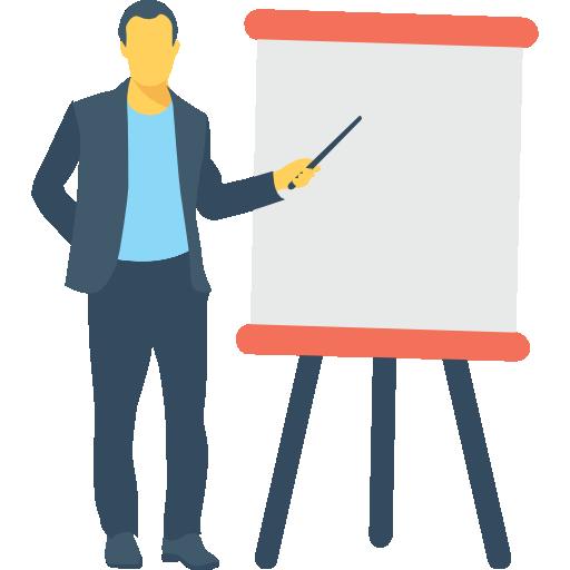 presentatie tijdens training voor de ondernemingsraad