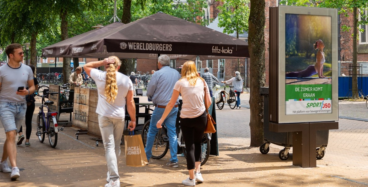 outdoor media als marketingmiddel