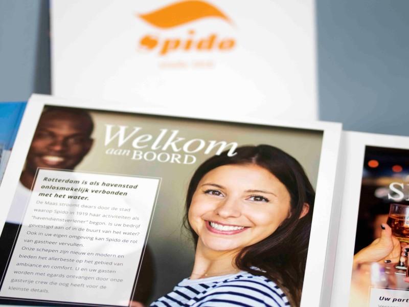 Brochure ontwerp  en drukwerk Rotterdam Spido