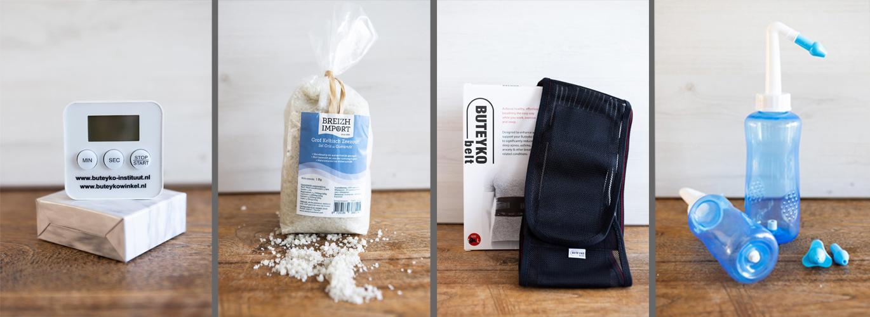 Buteyko Winkel Producten Voorbeelden