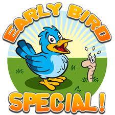Early Bird Special voor de Buteyko opleiding