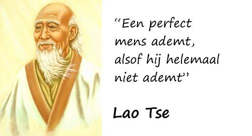 Lao Tse en een goede ademhaling