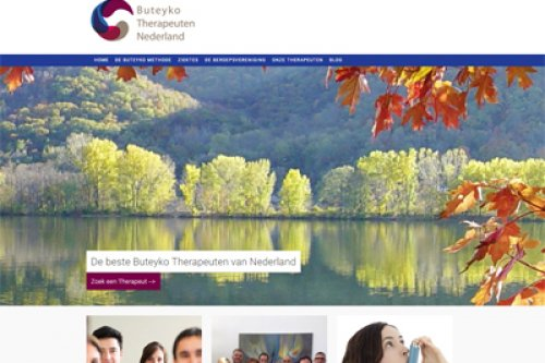 Buteyko Therapeuten Nederland BTN Website