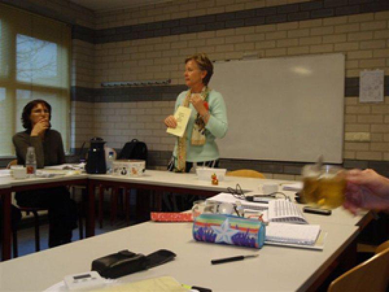 Jennifer Stark geeft les bij de Opleiding tot Buteyko Therapeut