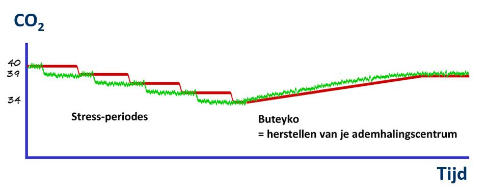 Herstellen ademhalingscentrum met Buteyko