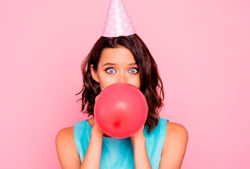 Van opblazen van ballonnen wordt je duizelig
