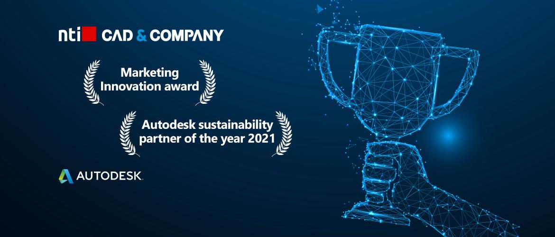 NTI CAD & Company wint twee awards tijdens de OTC2021!