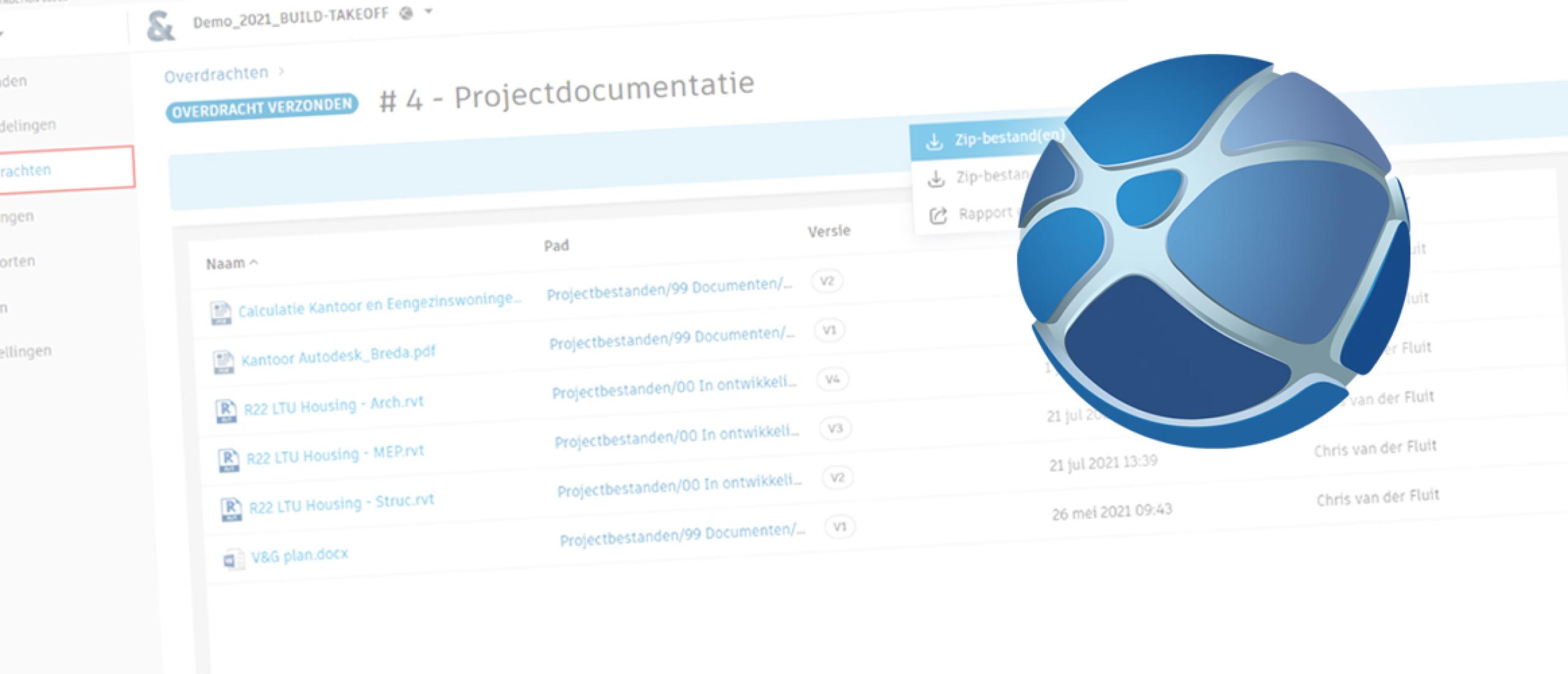Documentenlijst genereren van je gedeelde bestanden in de Autodesk Construction Cloud