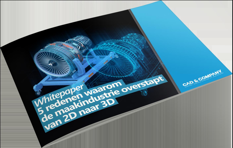 Whitepaper van 2D naar 3D in de maakindustrie