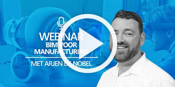 Webinar BIM voor manufacturing