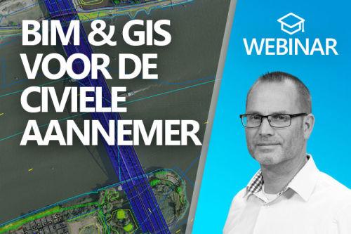 Webinar: BIM & GIS voor de civiele aannemer