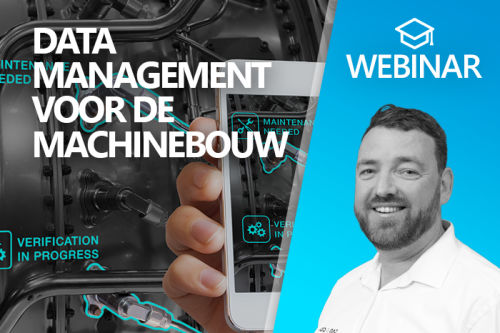 Webinar: Datamanagement voor de machinebouw