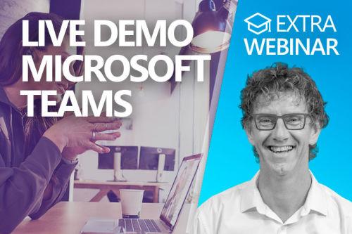 Webinar: Hoe werkt Microsoft Teams?