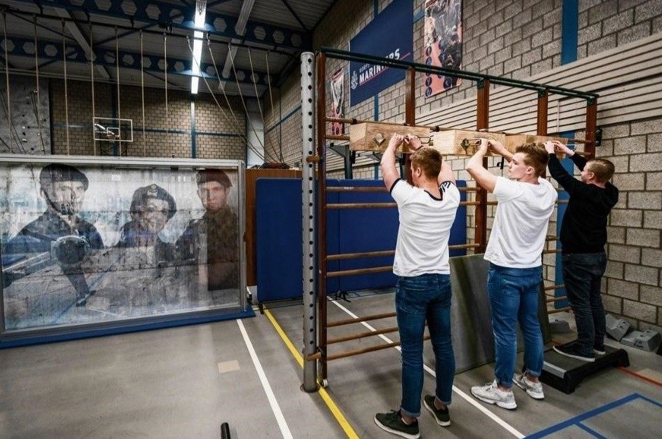 defensie sporttest parcour training