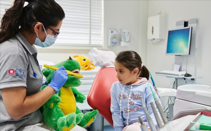 Mondhygiënist voor kinderen, kindertandarts