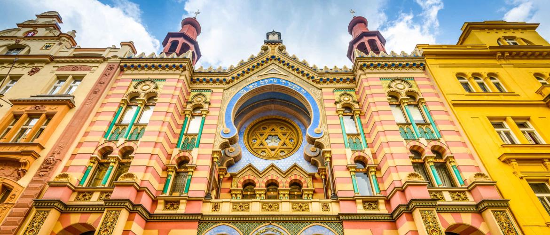 De Joodse gezellige en authentieke wijk Josefov in Praag
