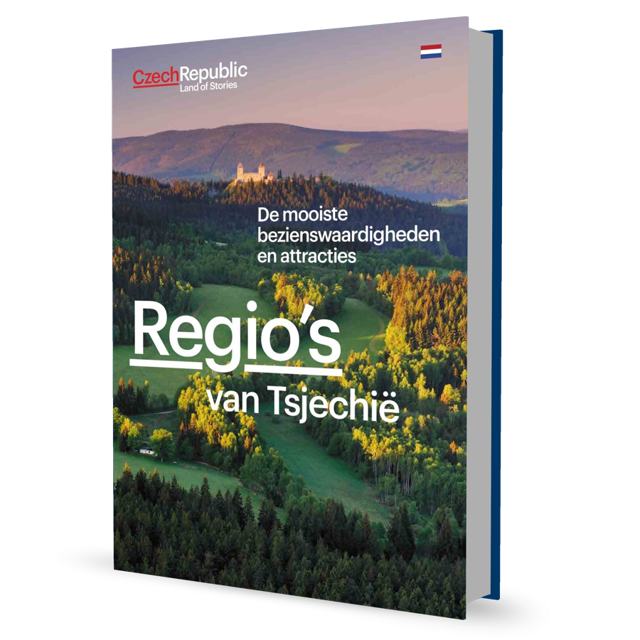 Brochure Regio's van Tsjechië