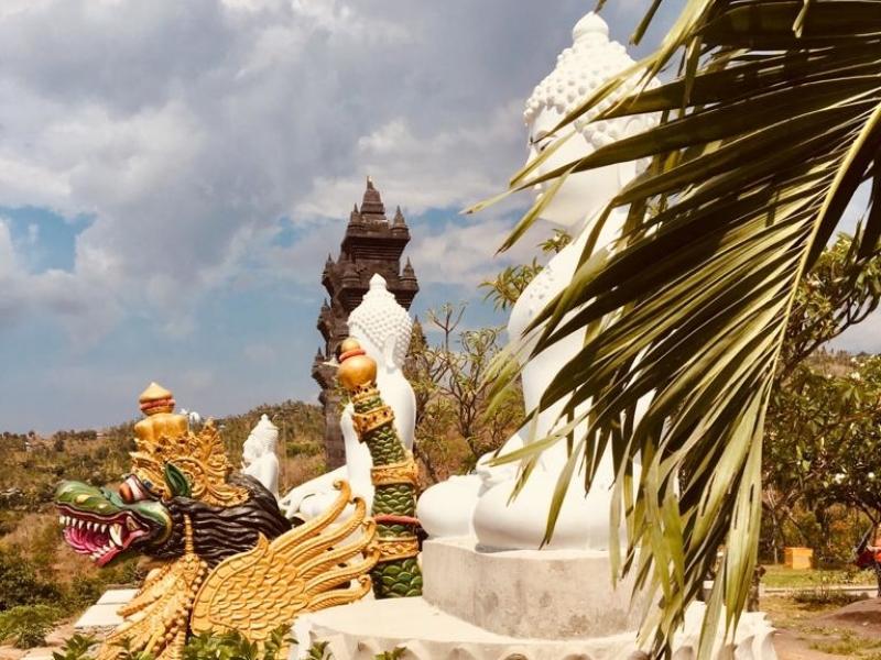 Boeddhistische tempel  Bali