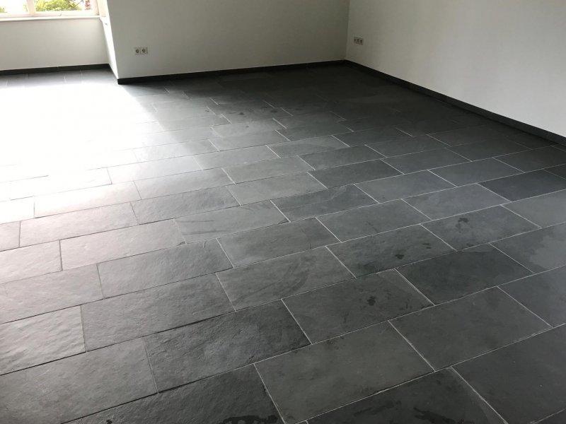 Leisteen vloer reinigen